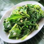 Spinach and Garlic are rich in nitric oxide inducing nutrients