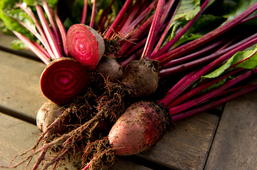 Beets boost nitric oxide because of the high concentration of nitrates