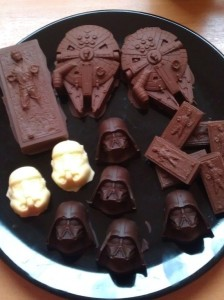 chocolate darth vader
